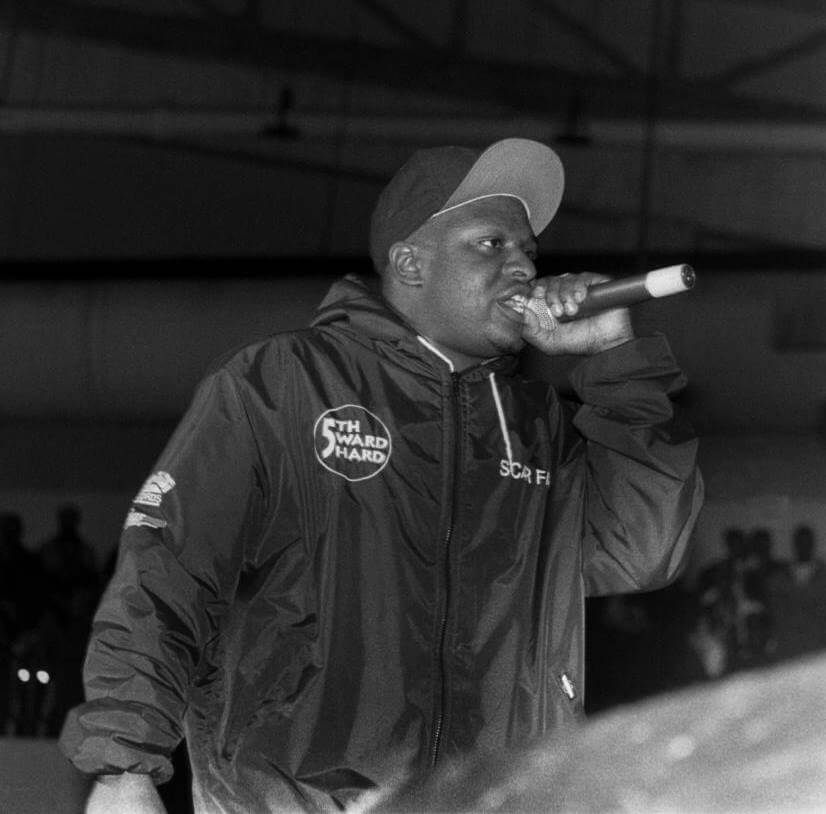 CHICAGO - JANUARY 1992: Rapper Scarface of the Geto Boys performs at the Regal Theater in Chicago, Illinois in JANUARY 1992. (Photo By Raymond Boyd/Michael Ochs Archives/Getty Images)