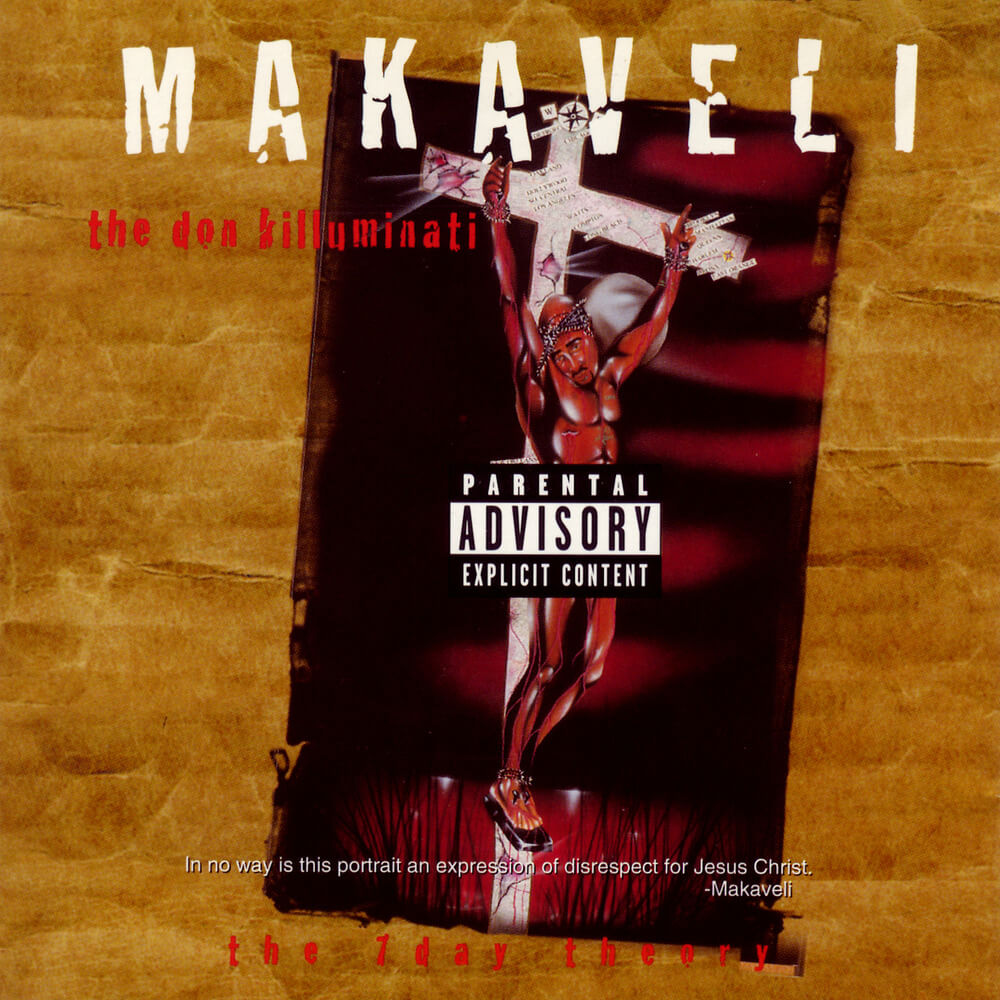 2Pac Makaveli - The Don Killuminati - The 7 Day Theory 1996 Album Cover
