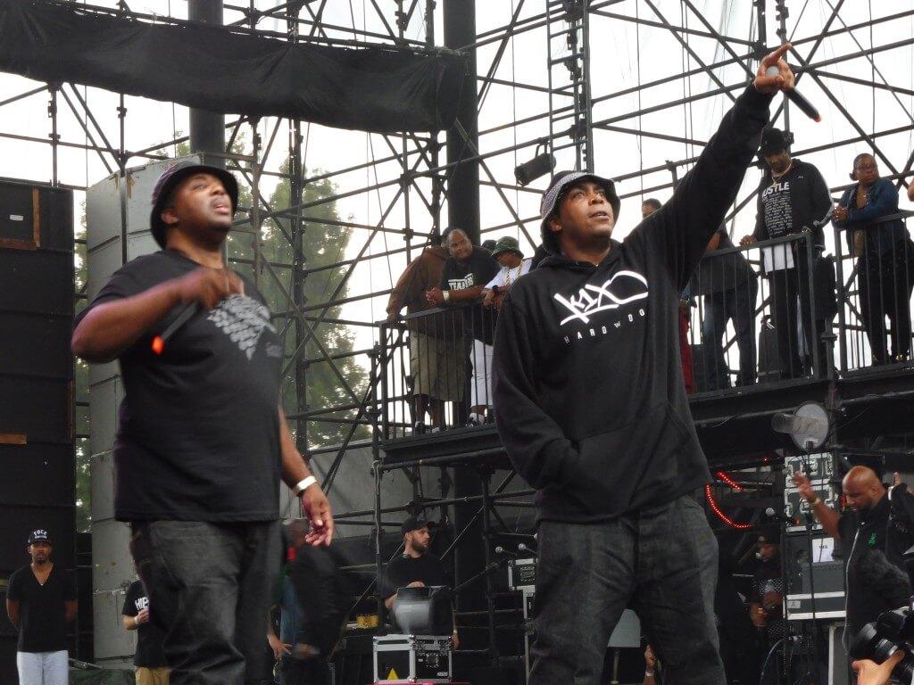 EPMD, Art Of Rap Festival, Irvine, California, 7/18/2015. Photo by HipHopGoldenAge