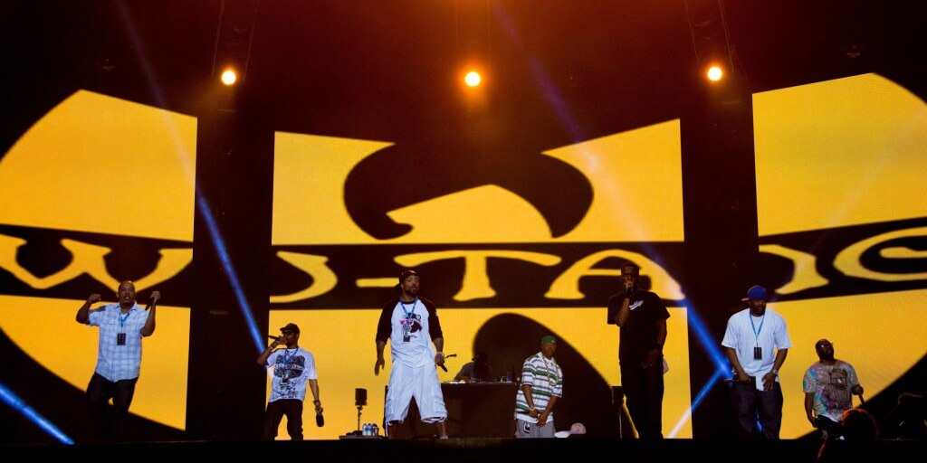 QUEBEC CITY, QC - JULY 05:  Wu-Tang Clan performs during the Quebec Festival D'ete on July 5, 2013 in Quebec City, Canada.  (Photo by Scott Legato/Getty Images)
