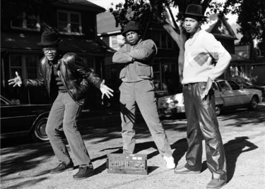 Run DMC & Jam Master Jay / Photo by Janette Beckman