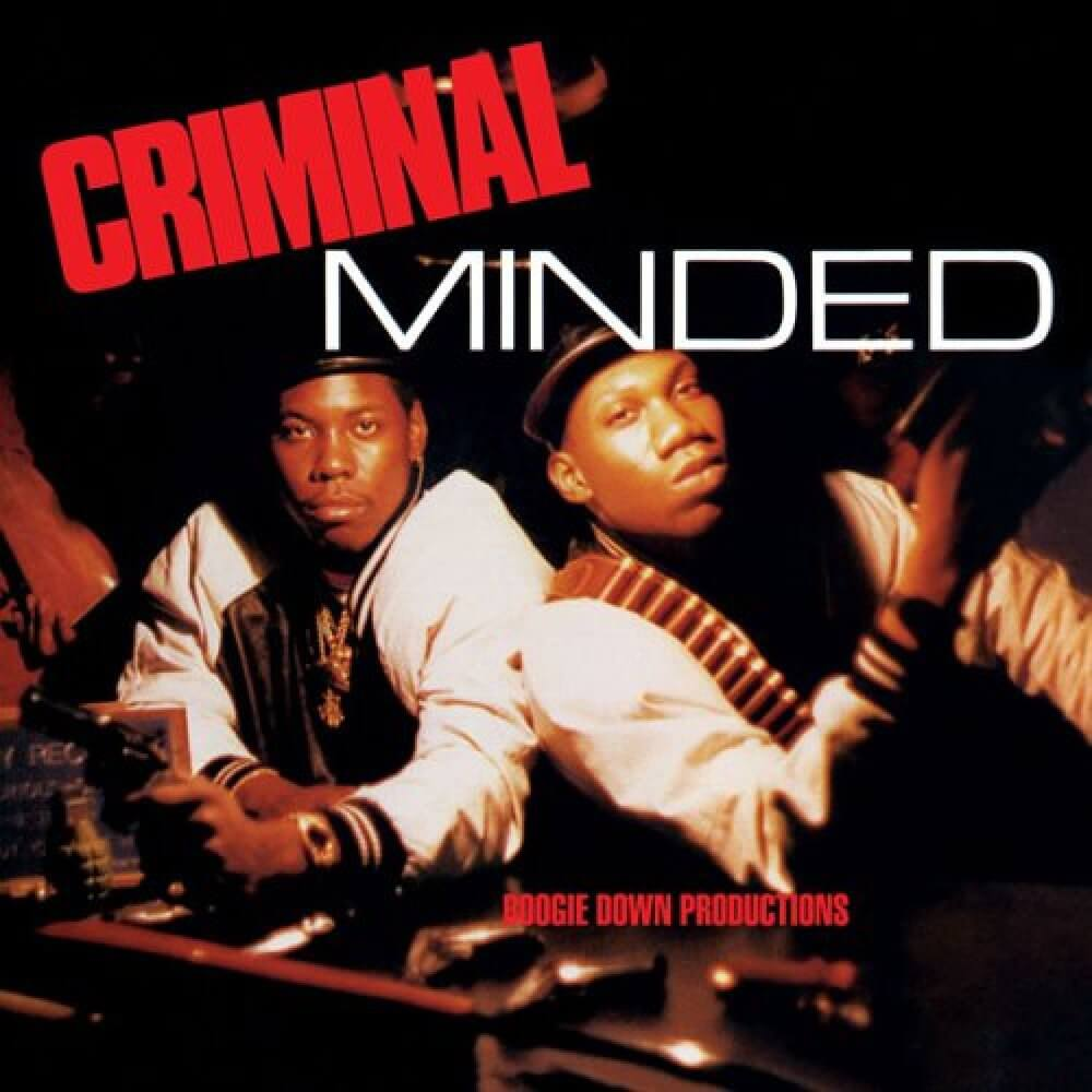 "Boogie Down Productions ""Criminal Minded"" (1987)"