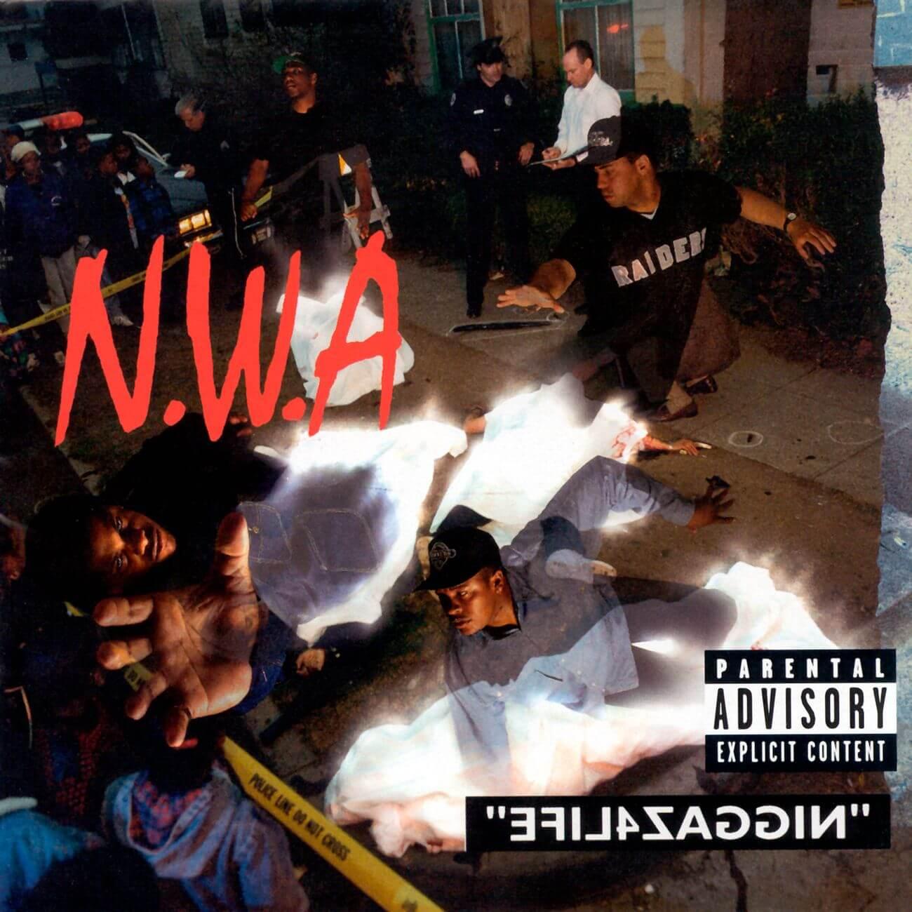 """N.W.A. """"Niggaz4Life"""" (1991)"""