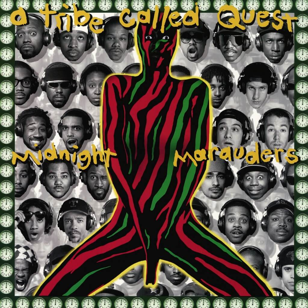 """A Tribe Called Quest """"Midnight Marauders"""" (1993)"""
