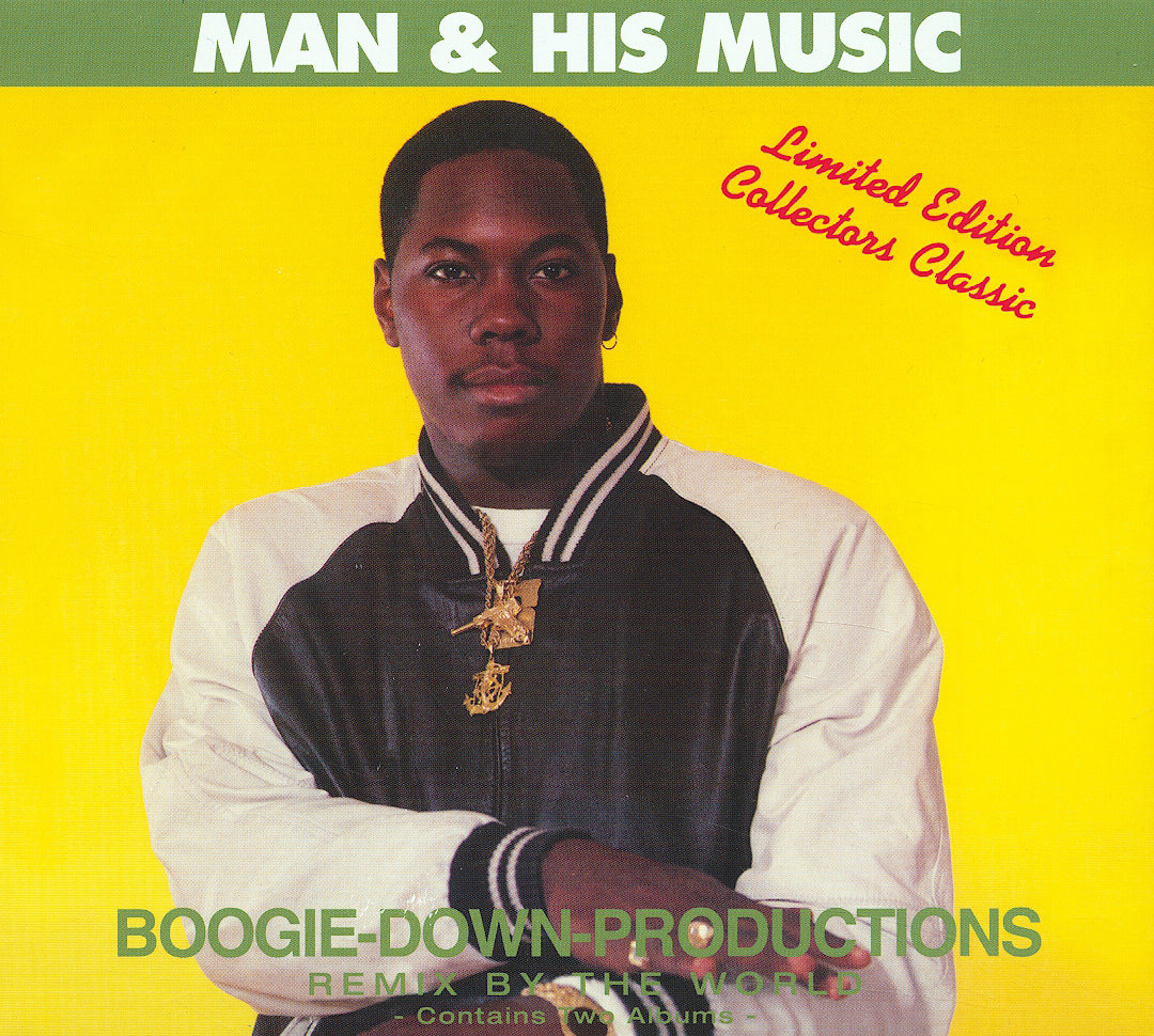 """Boogie Down Productions """"Man & His Music (Scott La Rock's Greatest Hits and Remixes)"""" (1988)"""