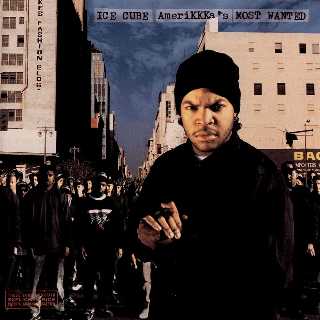 "Ice Cube ""AmeriKKKa's Most Wanted"" (1990)"