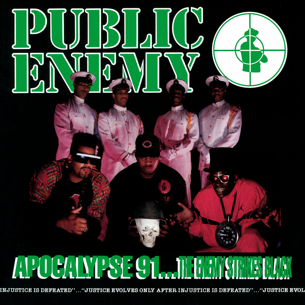 "Public Enemy ""Apocalypse 91… The Enemy Strikes Black"" (1991)"