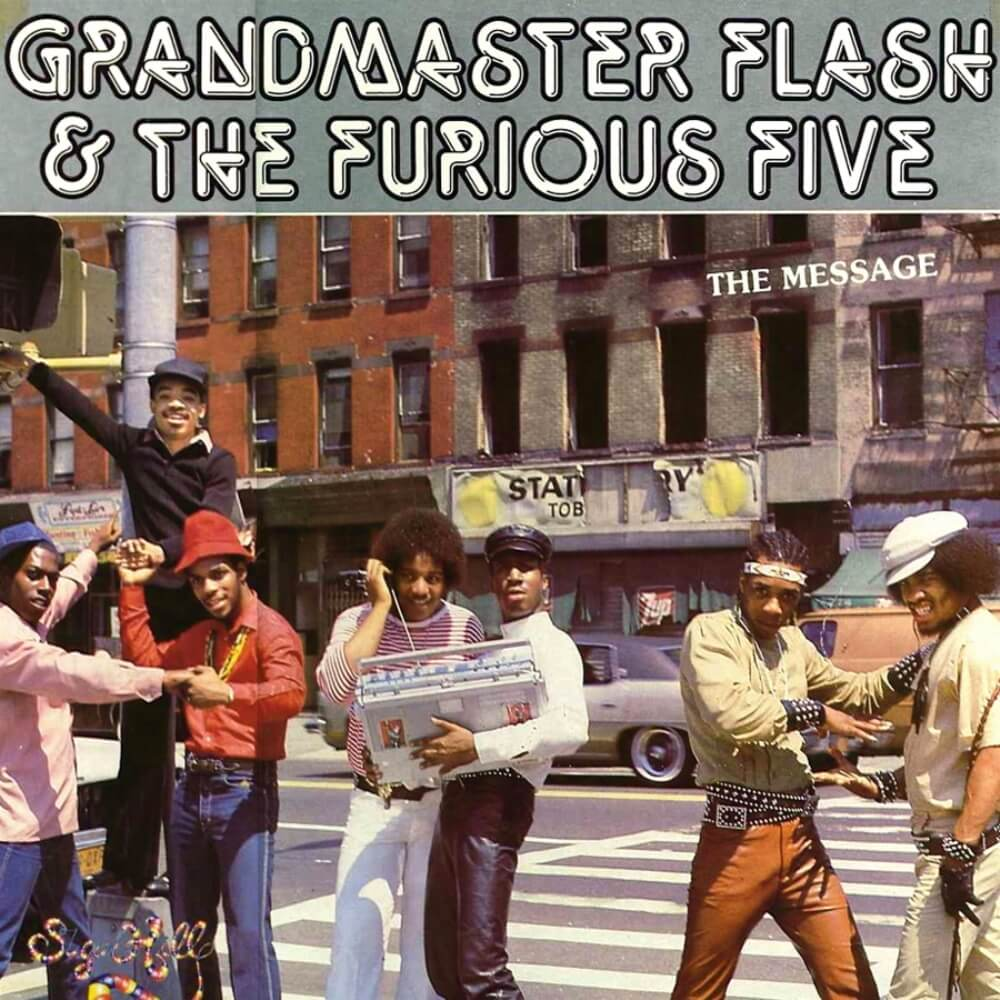 Grand Master Flash The Furious Five Feat Melle Mel Duke Bootee The Message El Mensaje