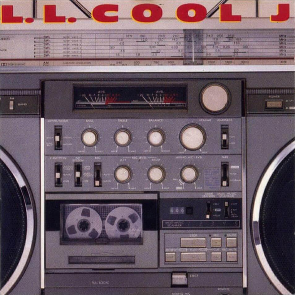 LL COOL J RADIO 1985 ALBUM COVER