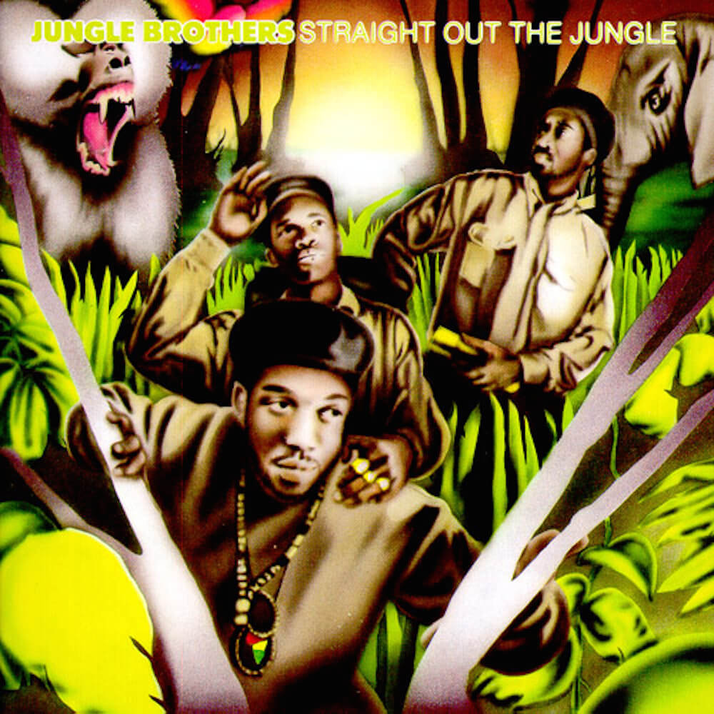 r hiphopheads essential album of the week 29 jungle brothers straight out the jungle. Black Bedroom Furniture Sets. Home Design Ideas