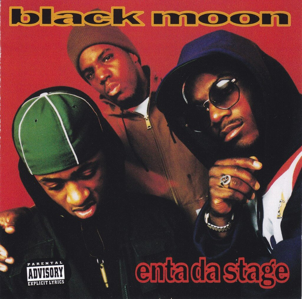 Black-Moon-Enta-Da-Stage-1993-Album-Front