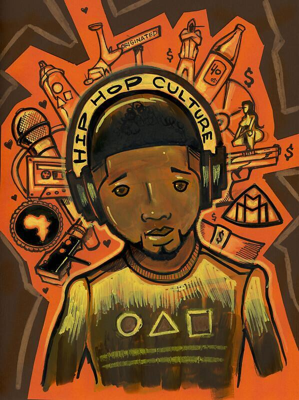 Hip Hop Culture Art