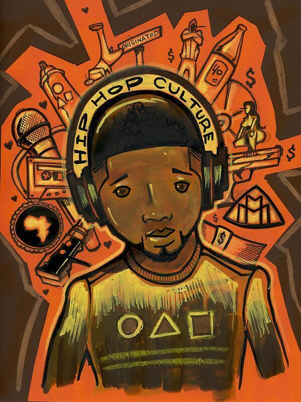 Hip Hop Culture Art