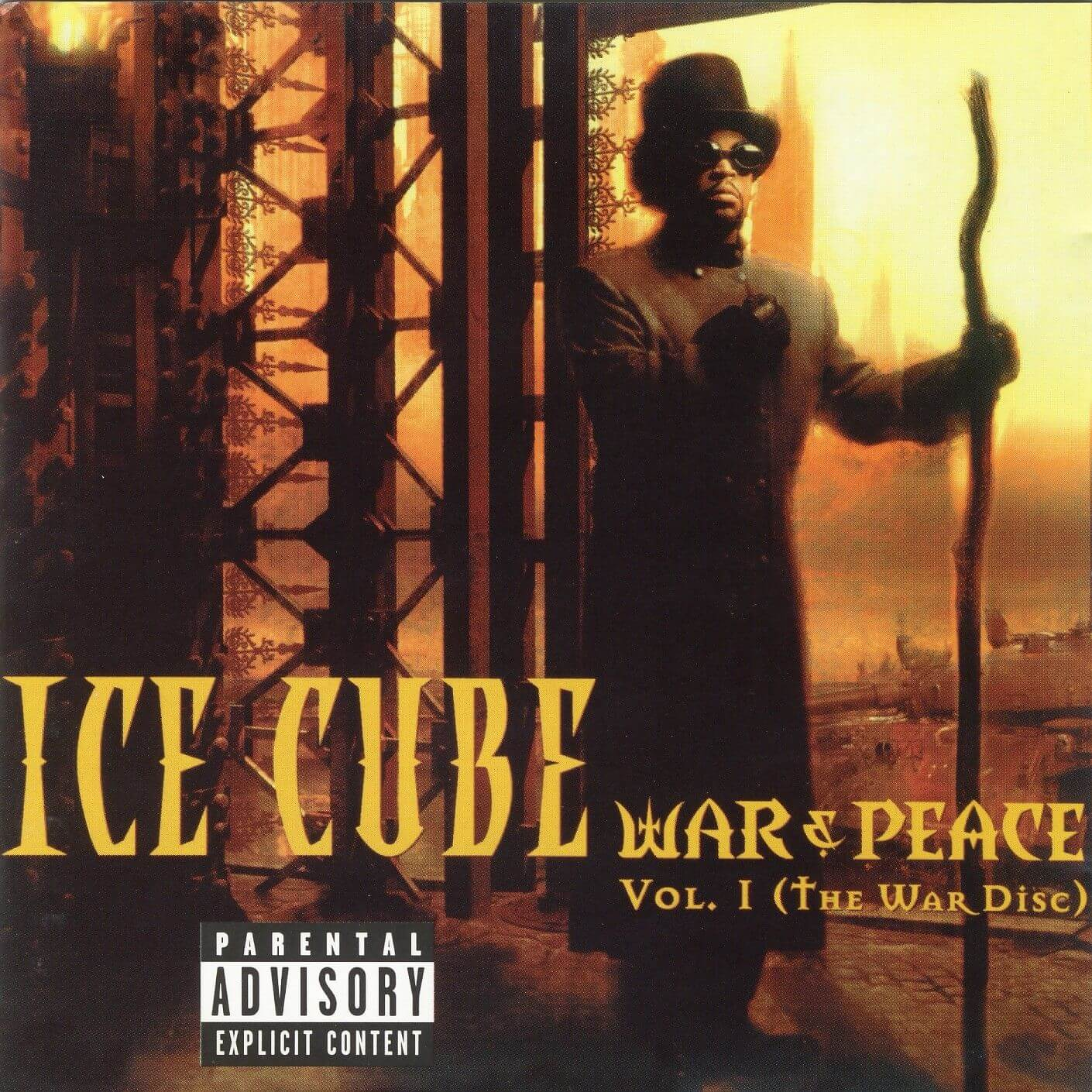 "Ice Cube ""War & Peace Vol. 1 (The War Disc)"" (1998)"