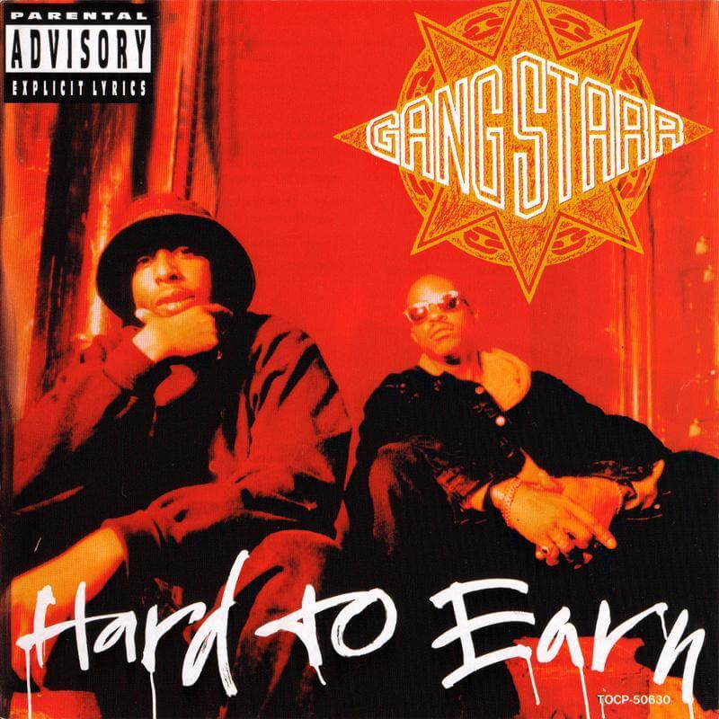 gang starr hard to earn 1994 album cover