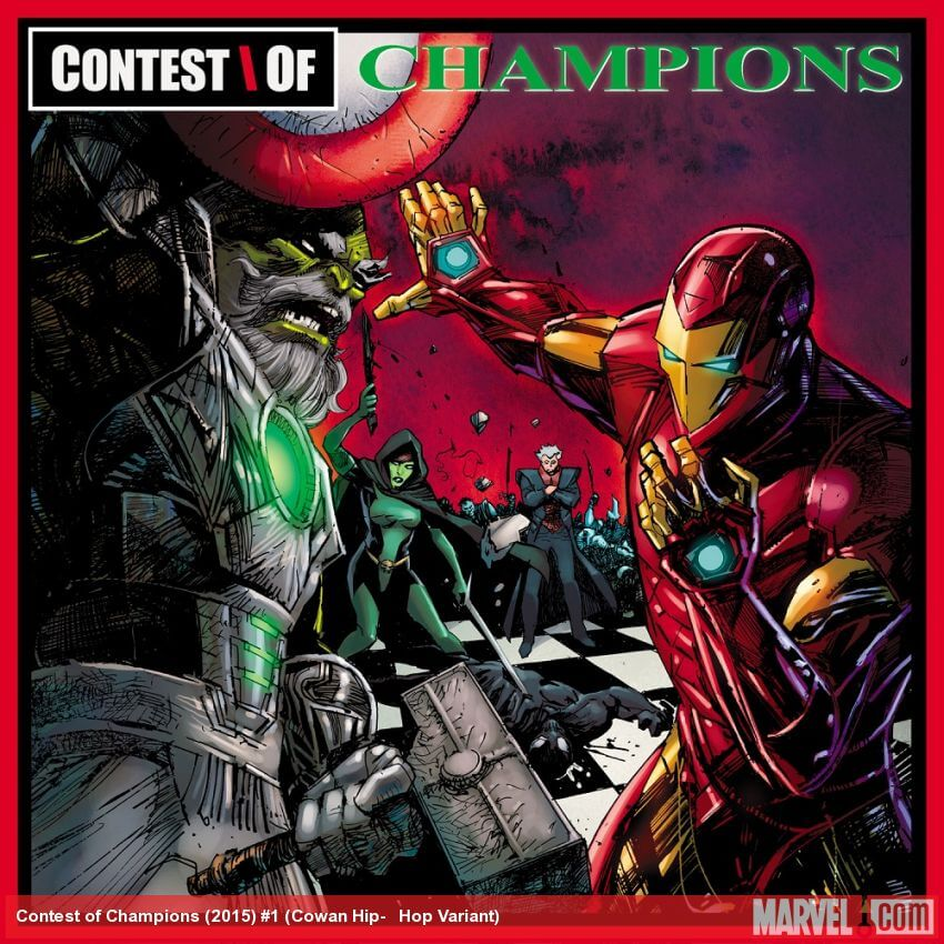 Hip Hop Marvel Variant Cover Contest Of Champions GZA Liquid Swords