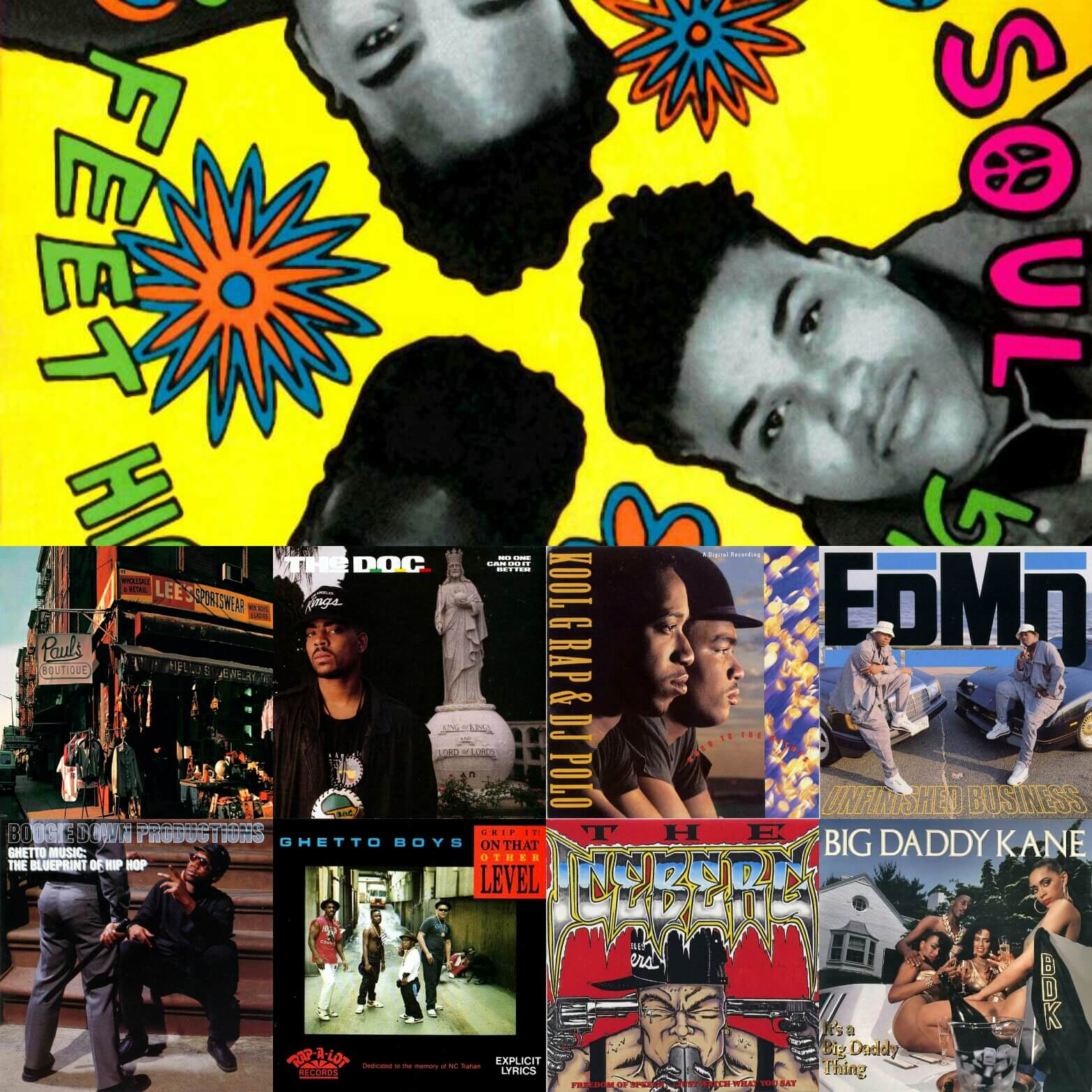 Top 40 Hip Hop Albums 1989 - Hip Hop Golden Age Hip Hop