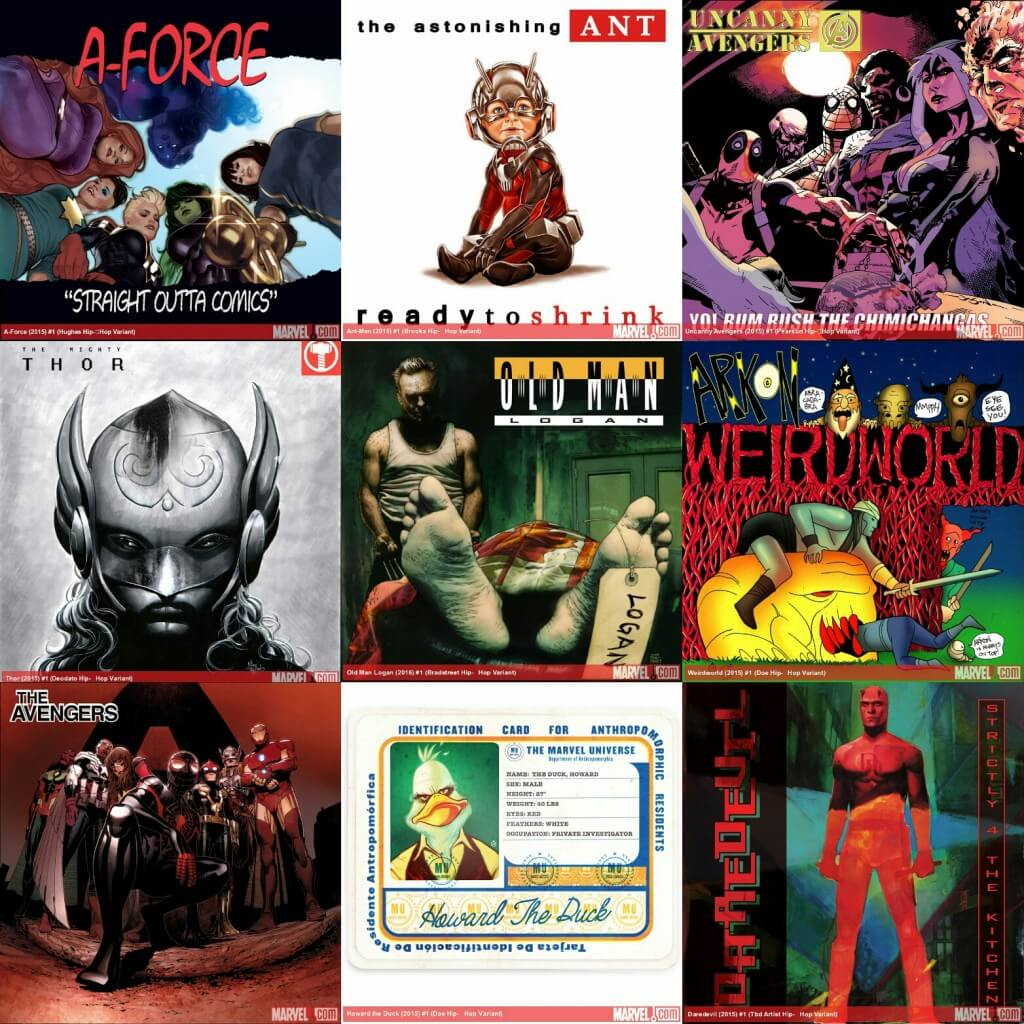 51 Marvel Hip Hop Variants (Season 1) - Hip Hop Golden Age