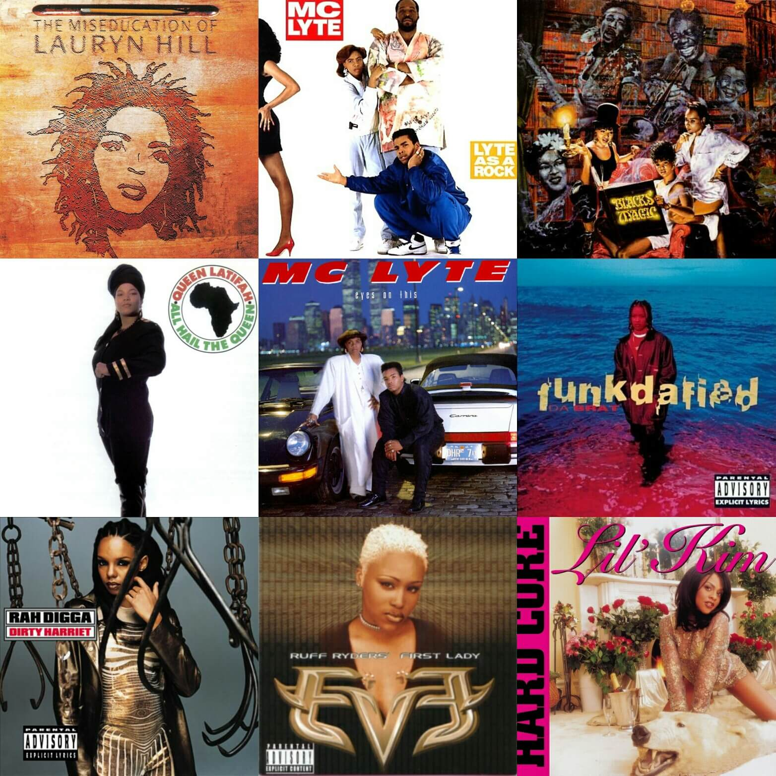 female emcee best albums