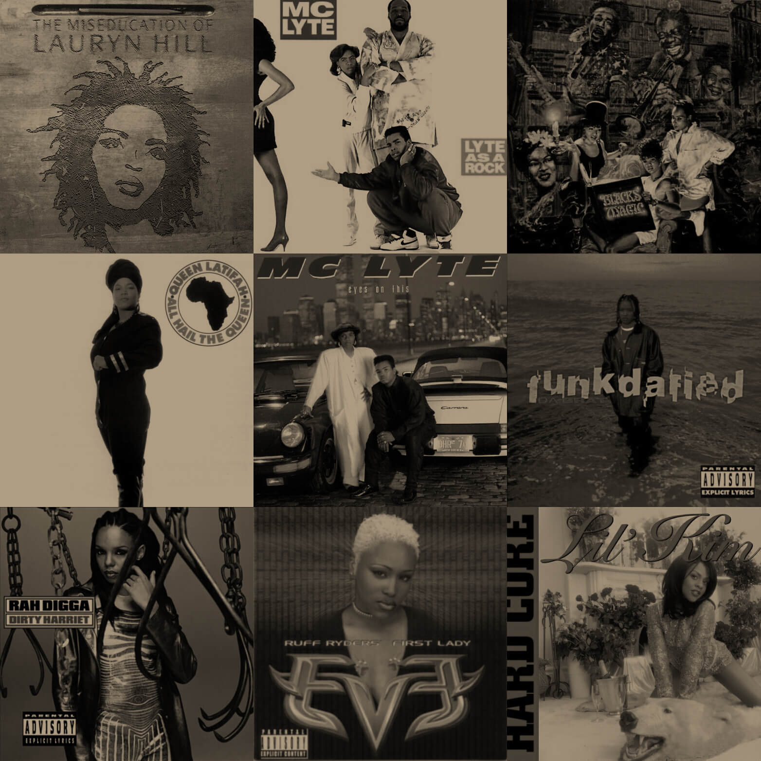 The Best Hip Hop Albums By Femcees