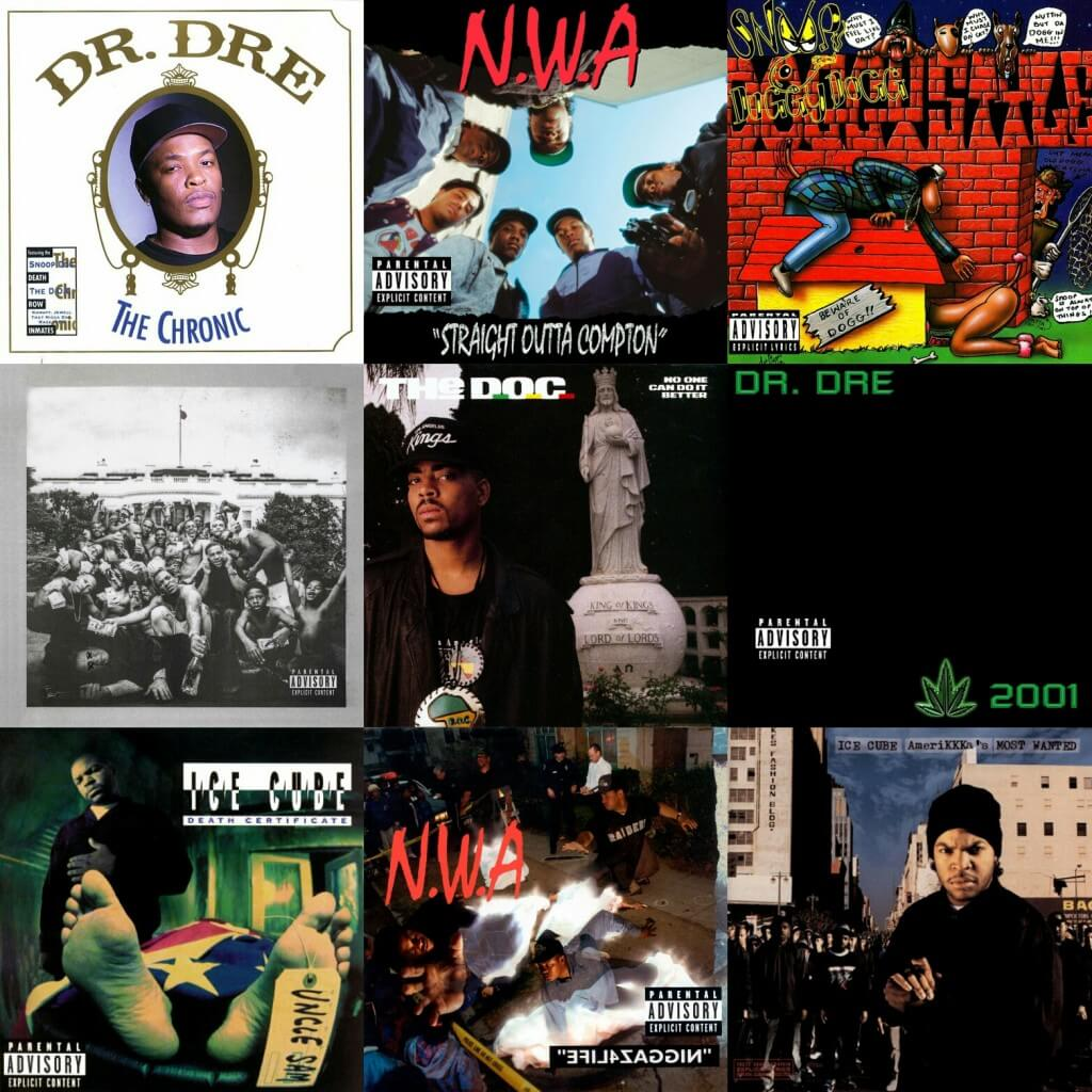Hip Hop West Coast Best Albums