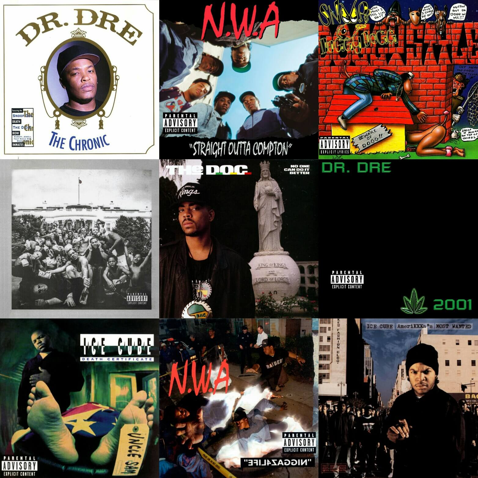 best west coast hip hop albums of all time