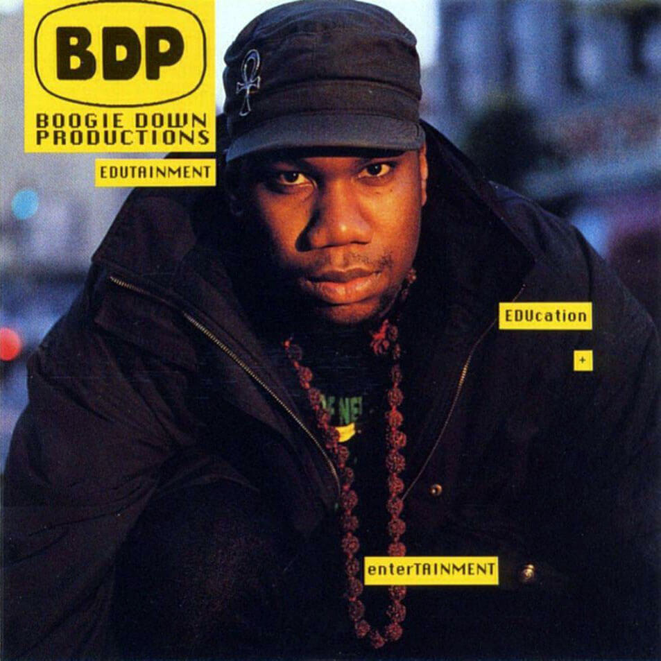 "Boogie Down Productions ""Edutainment"" (1990)"