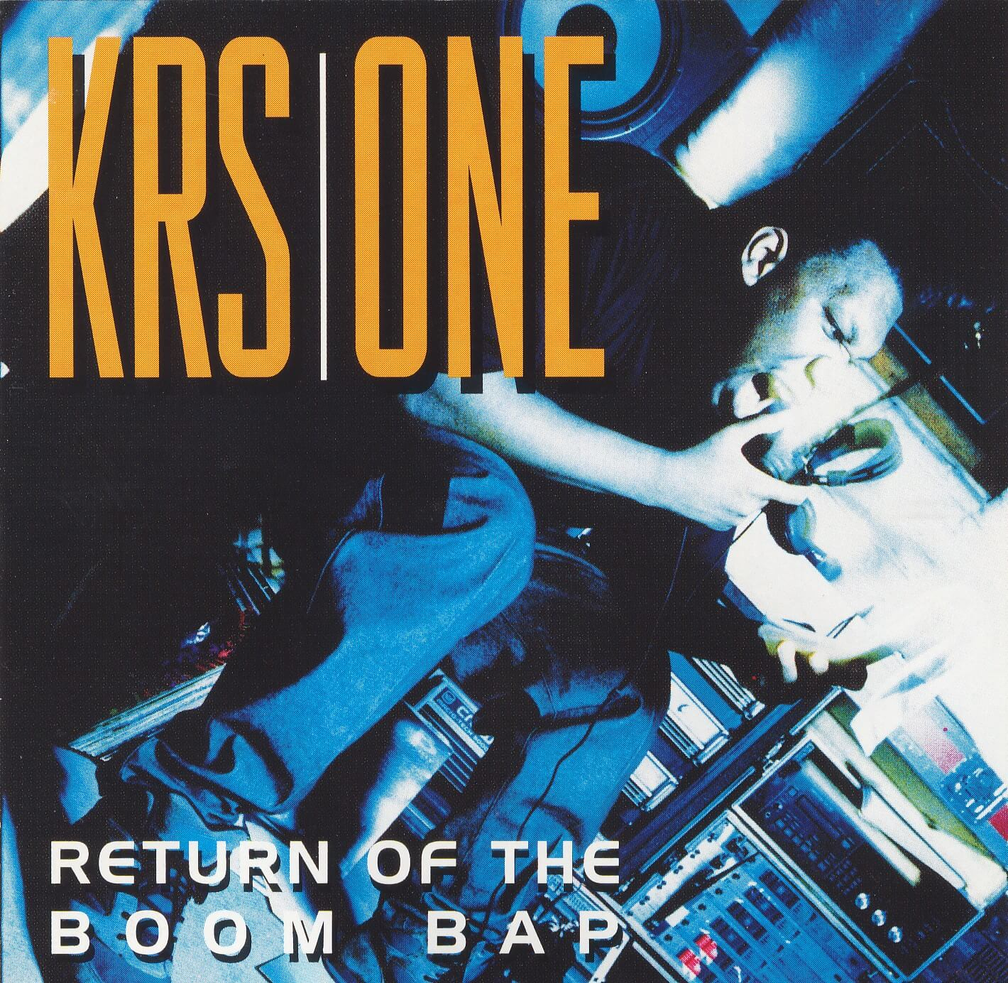 "KRS One ""Return Of The Boom Bap"" (1993)"