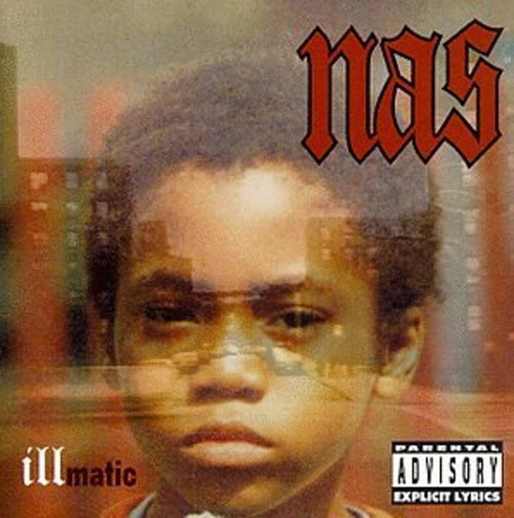 nas illmatic 1994 album cover