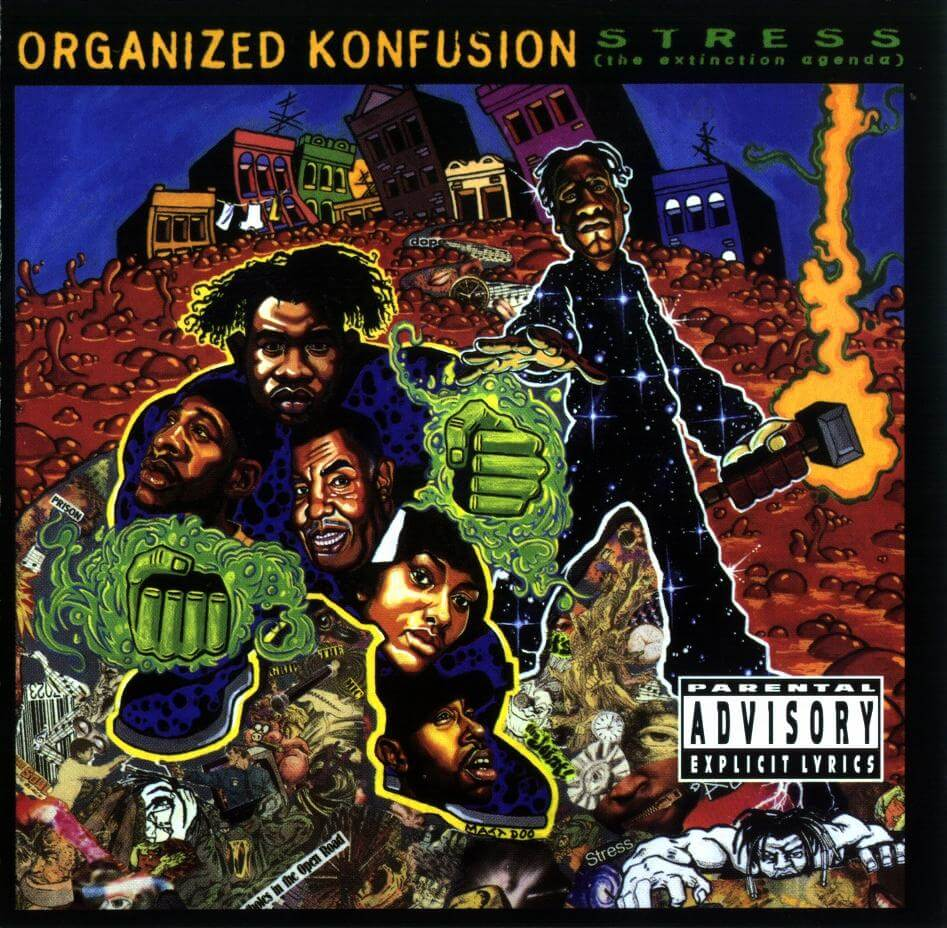 Organized Konfusion - Stress The Extinction Agenda - Front