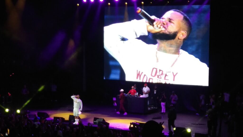 The Game, Art Of Rap Festival, Irvine, California, 7/18/2015. Photo by HipHopGoldenAge