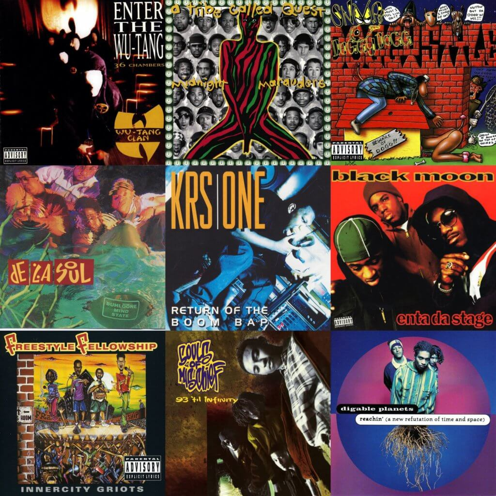 top 40 hip hop albums 1993