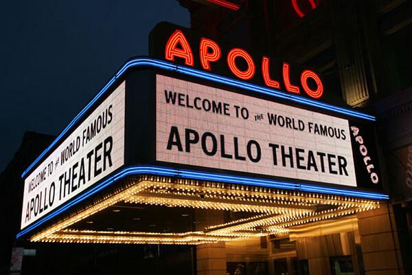 The Apollo Theater NYC