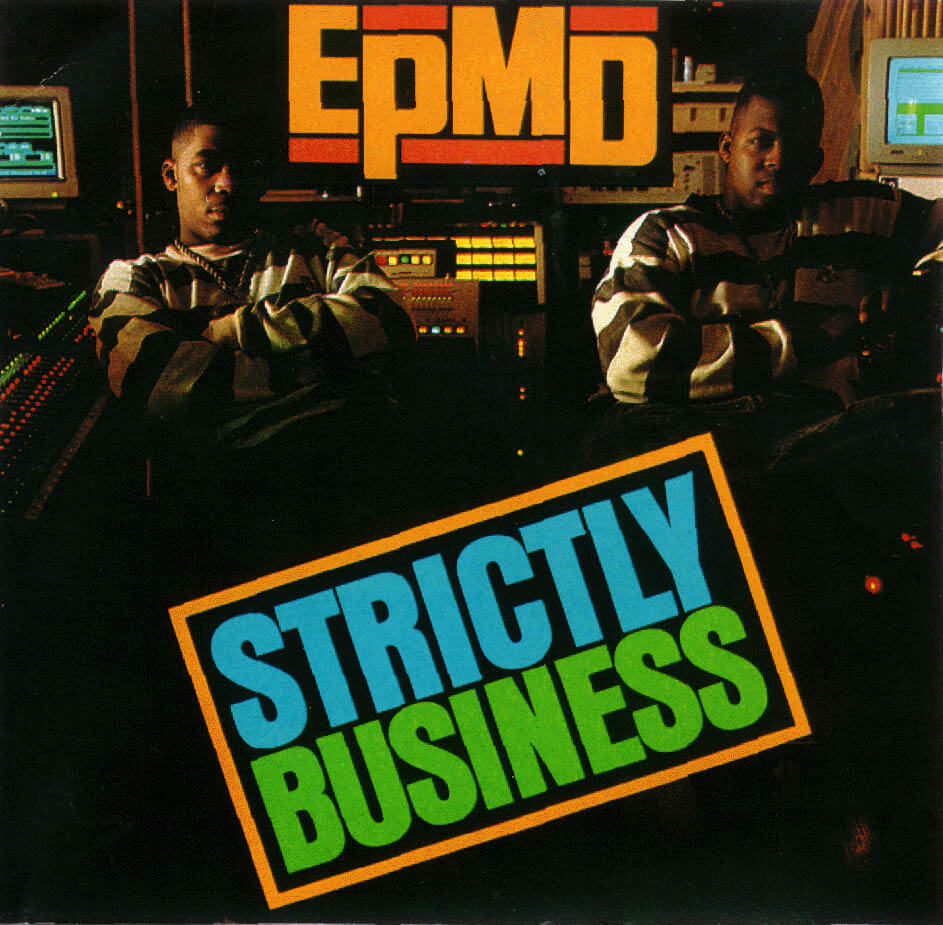 epmd strictly business 1988 album cover
