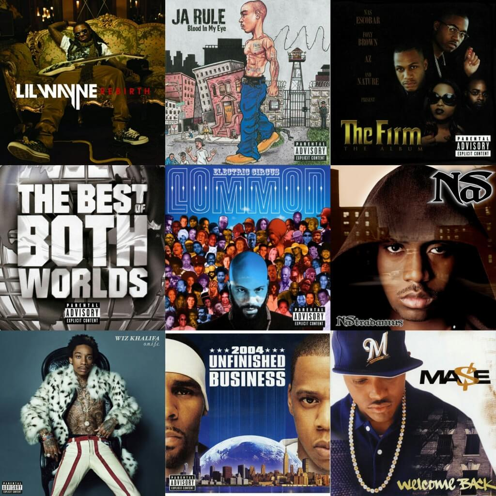 dissappointing hip hop albums