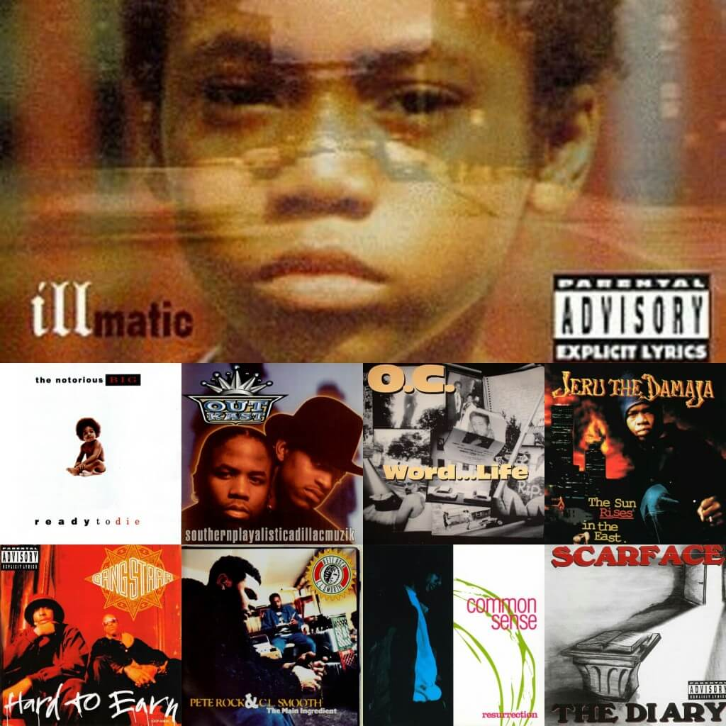best 1994 hip hop albums