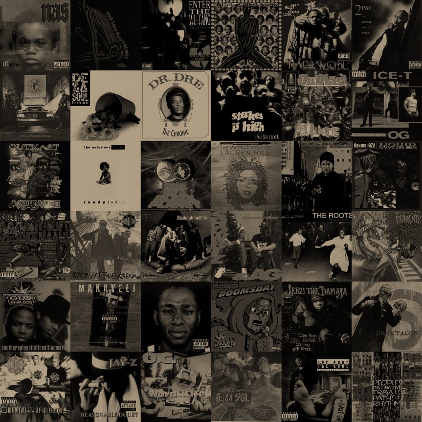 Top 100 Hip Hop Albums Of The 1990s Hip Hop Golden Age