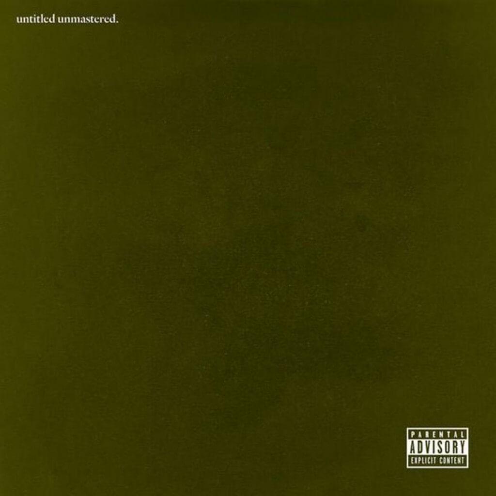 Kendrick Lamar untitled unmastered 2016