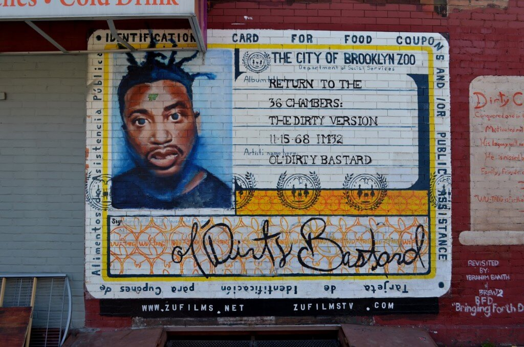 ODB mural brooklyn ol dirty bastard