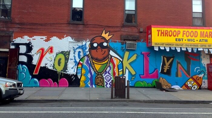 brooklyn biggie notorious big mural