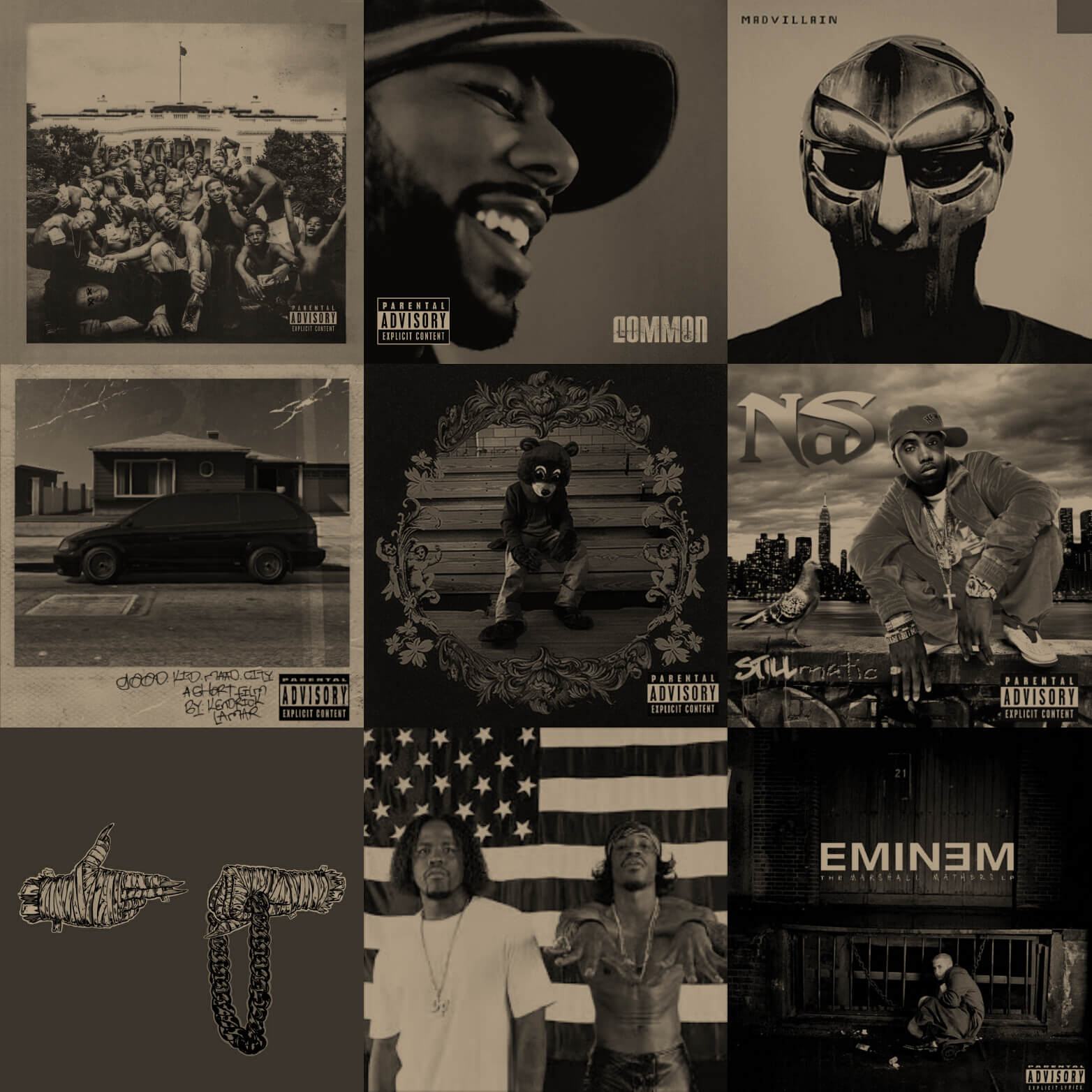 Best Hip Hop Albums Of The Millennium (2000-2015)