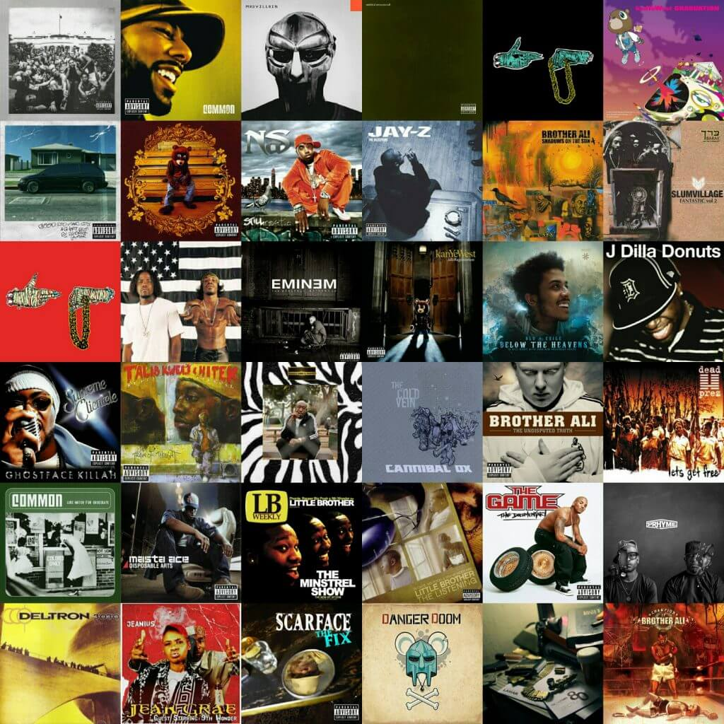 top 100 hip hop albums 2000 - 2015