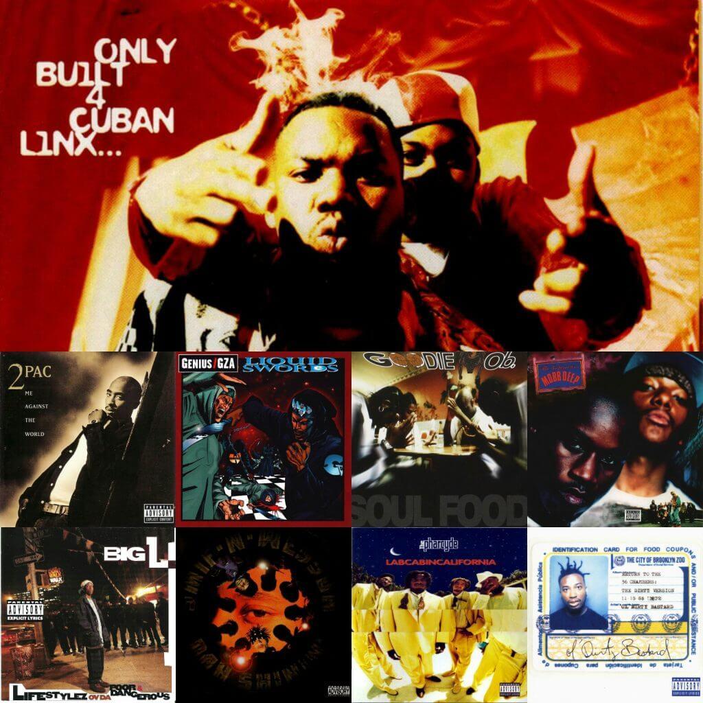 Top Hip Hop Albums Of 1995