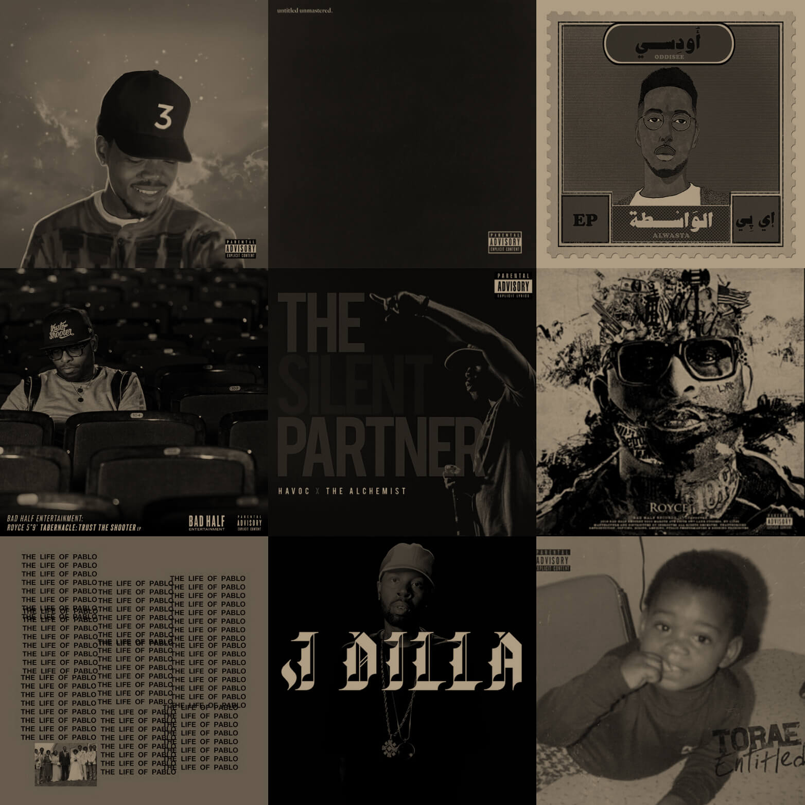 2016 Half Down... The Best Albums Of The Half Year - Hip Hop Golden Age
