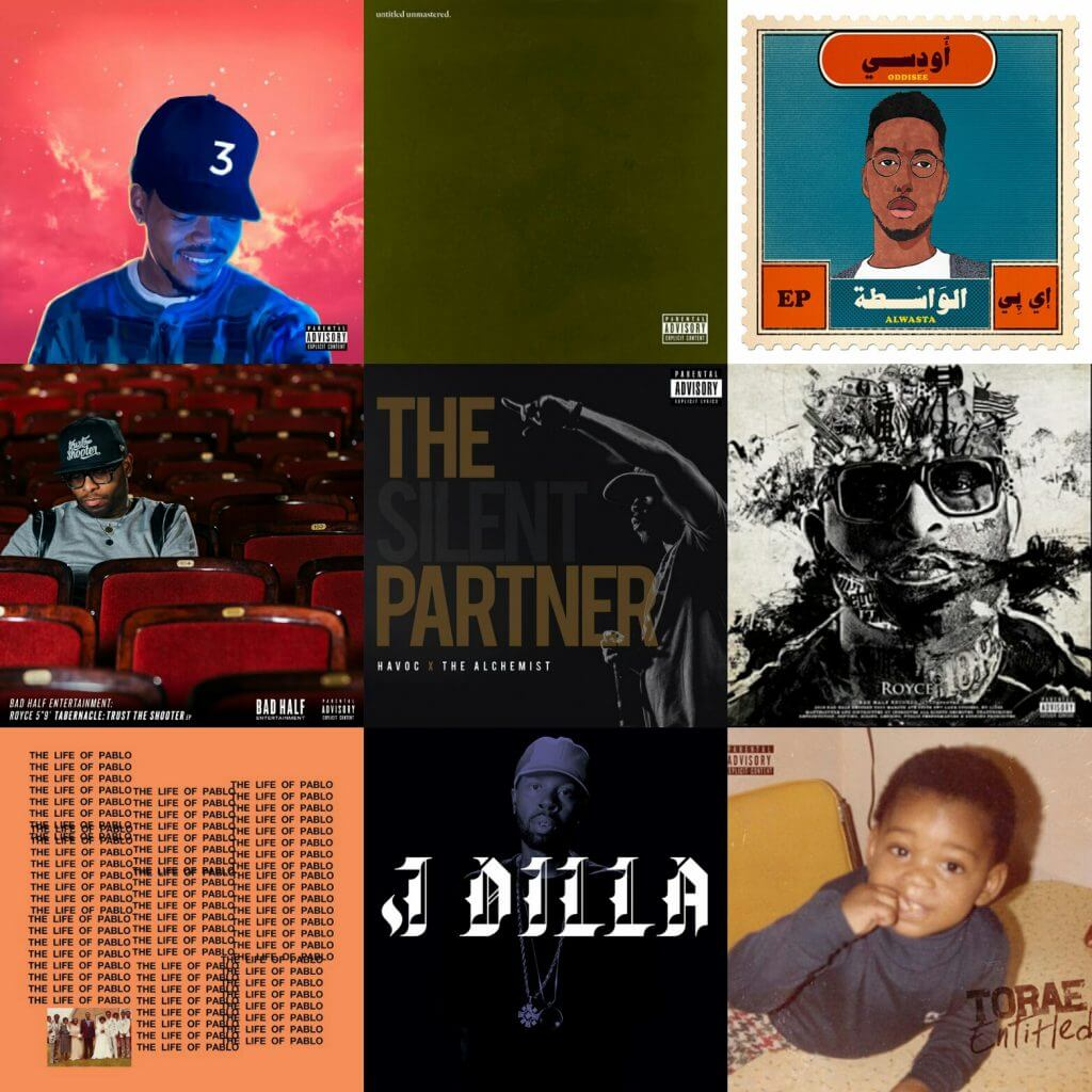 best hip hop albums first half 2016
