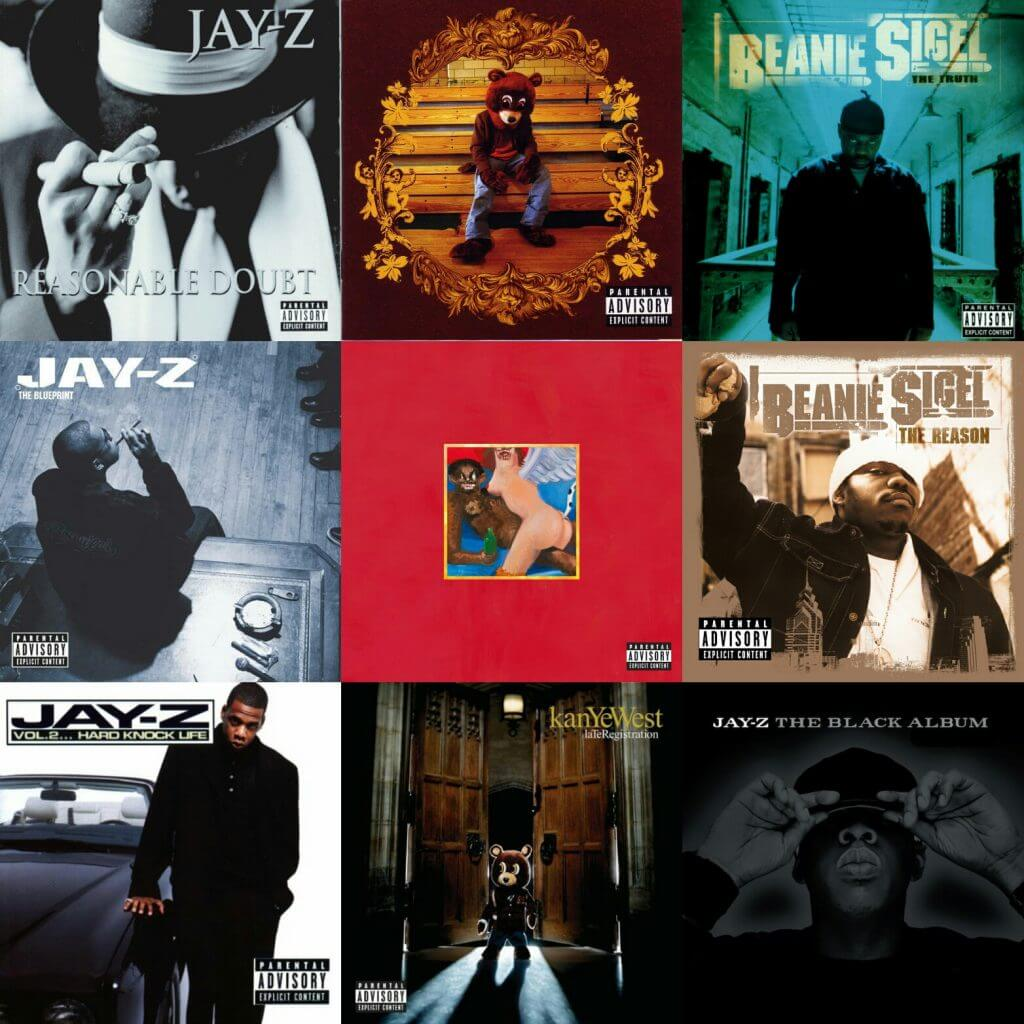 Its the roc the best albums from roc a fella hip hop golden age jay z beanie sigel kanye west malvernweather Gallery