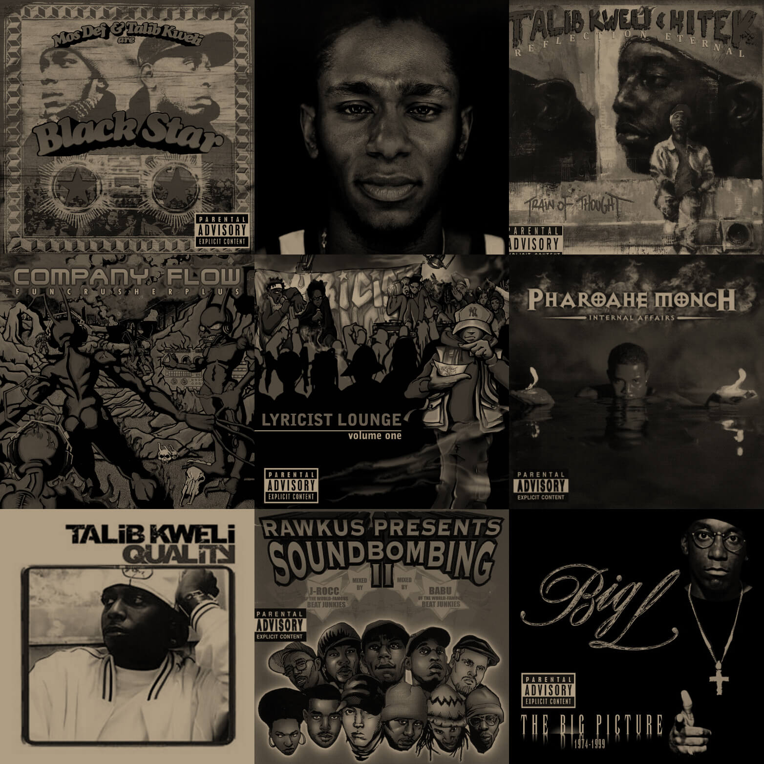 Bring The Rawkus: The Best Albums From Rawkus Records - Hip Hop Golden Age