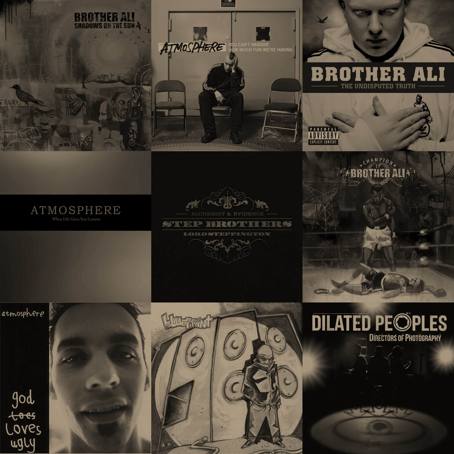 The Greatest Unknown: The Best Albums From Rhymesayers
