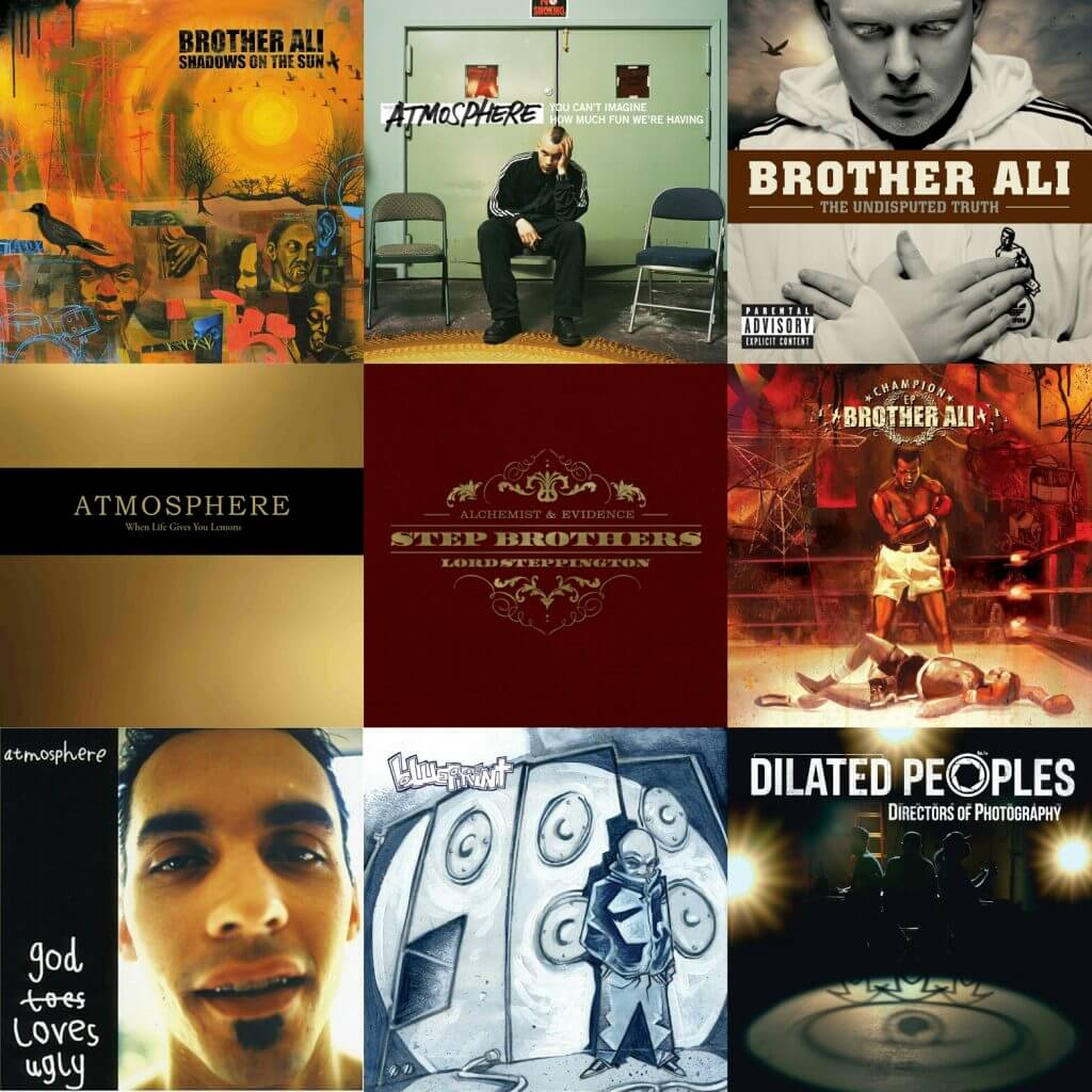 atmosphere, brother ali, aesop rock, blueprint