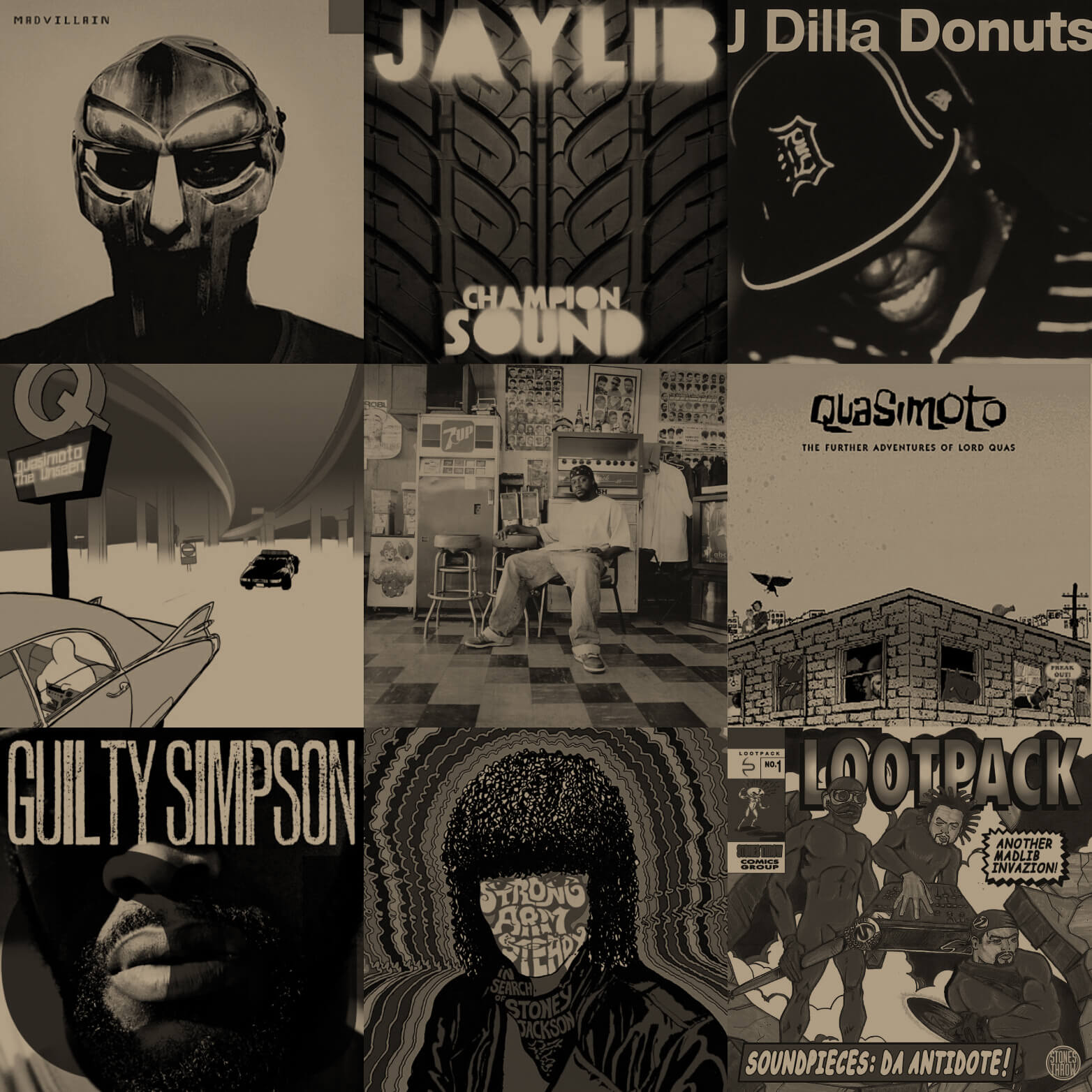 My Vinyl Weighs A Ton: The Best Albums From Stones Throw Records